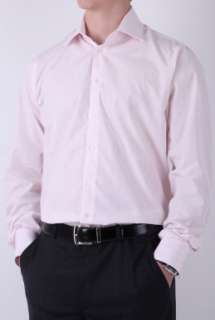 Pink Gradiated Stripe Classic Fit Shirt by Richard James   Pink   Buy