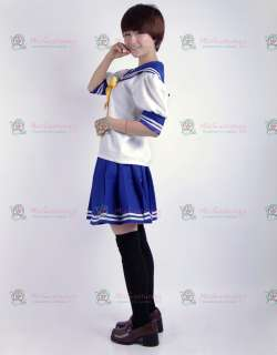 Lucky Star Summer Uniform Cosplay Costume  Buy Summer Style Lucky