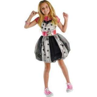 Hannah Montana (Pink with Polka Dots) Dress Child Costume   Includes