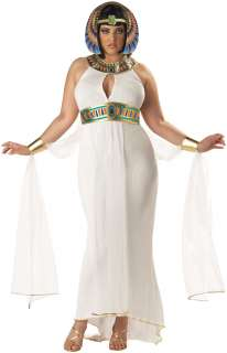 Goddess Of The Nile Plus Adult Costume   Includes Dress with attached