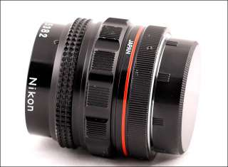 Nikon MACRO NIKKOR 12cm f6.3 Micro 120/6.3 VERY RARE Lens