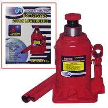 20 TON LOW PROFILE BOTTLE JACK SHOP Automotive Garage Lift Hoist Tools