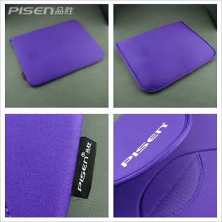 15.4 inch Laptop Notebook Soft Sleeve Cover Case Bag Pouch   (Purple