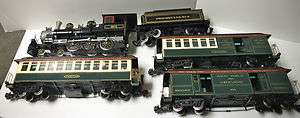 Bachmann G Scale 5 PC Train Set 9670 Pennsylvania Limited, Loco