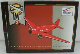 Liberty Classics Spec Cast DC3 Airplane US AIR FORCE