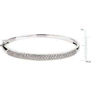 14 karat white gold Diamond Fashion Bracelet Diamond Designs Jewelry