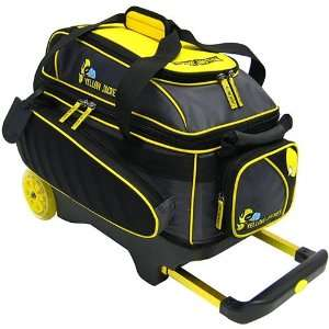 Yellow Jacket Double Roller Bowling Bag