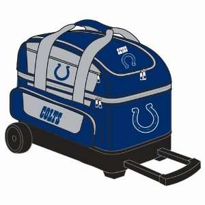 NFL Double Roller Bowling Bag  Indianapolis Colts Sports