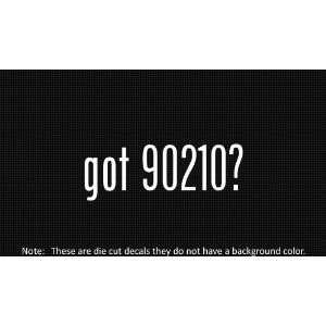 (2x) Got 90210   Sticker   Decal   Die Cut   Vinyl
