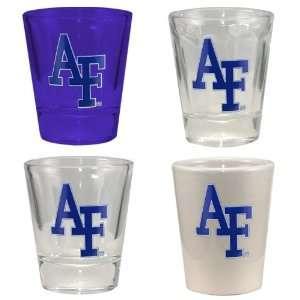 Air Force Falcons 4 Pack Shot Glass Set