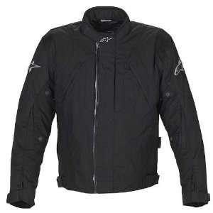 Drystar Mens Waterproof Road Race Motorcycle Jacket   Black / X Large