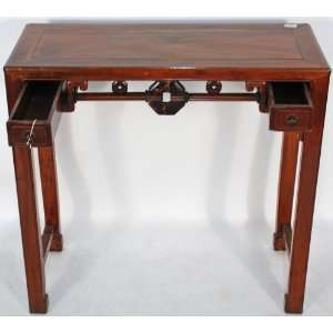 BK0065Y Chinese Antique Small Table or Desk with Two