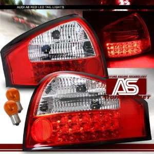 Audi S6 Led Tail Lights Red LED Taillights 1998 1999 2000