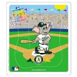 MLB Oakland Athletics Baseball Puzzle