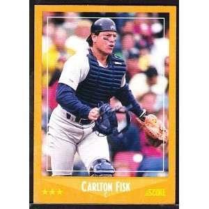1988 Score Chicago White Sox Baseball Team Set . . . Featuring Carlton