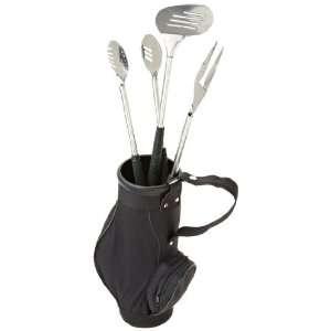 DII Worlds Best Dad Golf Bag 3 Piece BBQ Set
