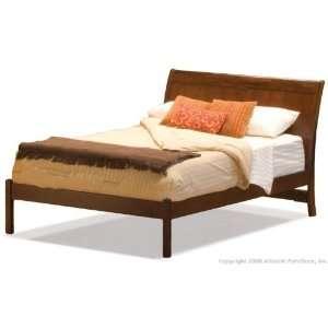 Bordeaux King Bed Frame   Open Footrail