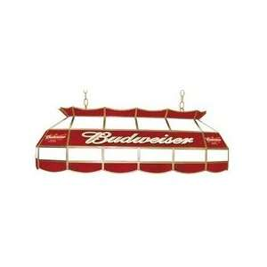 ADG Source Budweiser Stained Glass Pool Table Light
