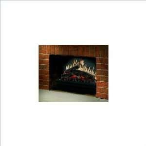 Dimplex Electraflame Electric Fireplace Heater Insert in Black Finish