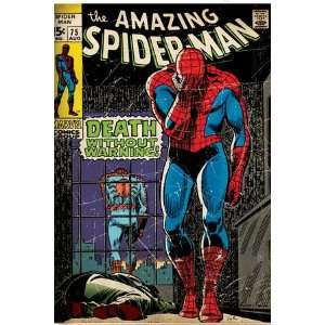 Marvel Comics Retro The Amazing Spider Man Comic Book
