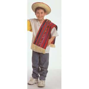 Mexican Boy Kids Costume by Childrens Factory Toys