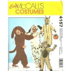 Childrens/Boys/Girls Dog Costumes McCalls Sewing Pattern