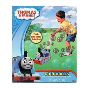 Imperial Toy All Aboard Thomas Go Bubbles, Blue Toys & Games