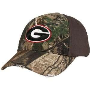 Nike Georgia Bulldogs Real Tree Camo Flex Fit Hat: Sports & Outdoors