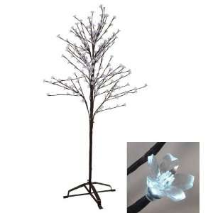 Enchanted Garden LED Lighted Cherry Blossom Flower Tree   Cool