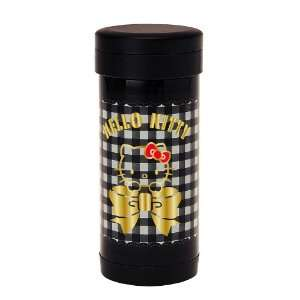 Hello Kitty Stainless Steel Mug Gold Ribbon