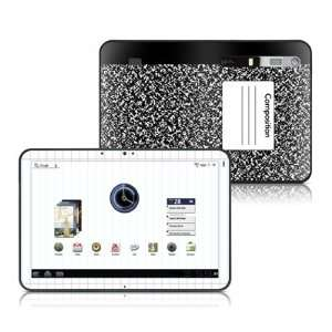 Composition Notebook Design Protective Skin Decal Sticker