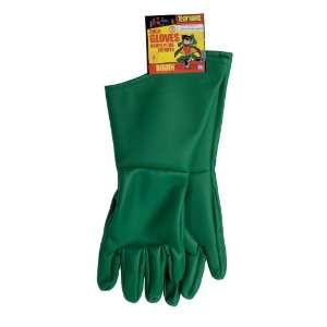 Lets Party By Rubies Costumes Teen Titans   Robin Child Gloves / Green