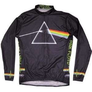 Primal Wear Mens Pink Floyd Dark Side Of The Moon Long Sleeve Cycling