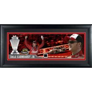 Dale Earnhardt Jr. Framed Chase for the Cup Panoramic Adult