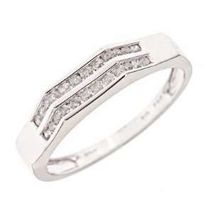 Carat T.W. Diamond Womens Wedding Ring 14K White Gold Jewelry