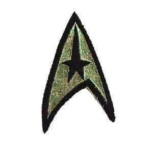 Star Trek Captain Kirk Insignia Badge Patch Actual Size  Toys & Games