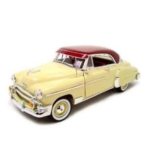 1950 Chevrolet Bel Air Diecast Model Beige 118 Die Cast