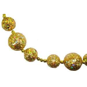 Gold Sequin Disco Ball Christmas Garland #XAG875 GO/IR