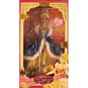 Disney Enchanted Tales Cinderella Winter Collection Porcelain Doll
