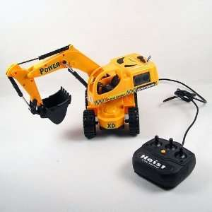 remote control excavator 6825a remote control toy truck Toys & Games