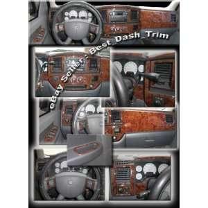 Dodge Ram 2006 2007 2008 2009 Wood Dash Trim Kit