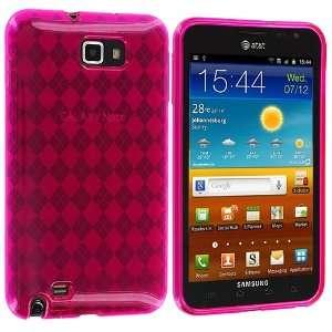 Electromaster(TM) Brand   Hot Pink TPU Rubber Skin Case