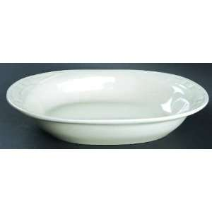 Traditions Ivory Oval Baker, Fine China Dinnerware Kitchen & Dining