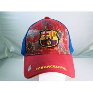 FC BARCELONA OFFICIAL TEAM LOGO CAP / HAT   FCB012 Sports