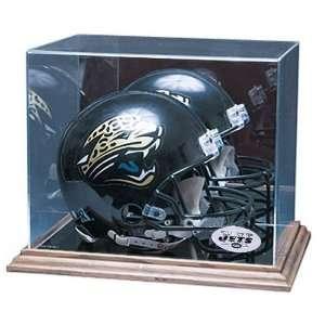 New York Jets NFL Full Size Football Helmet Display Case