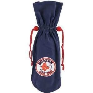 Boston Red Sox Navy Blue Wine Bottle Bag Sports