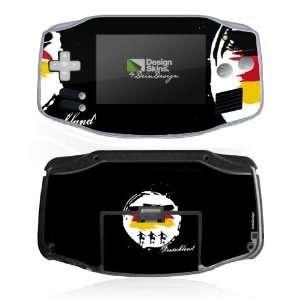 Design Skins for Nintendo Game Boy Advance   Fußballdeutschland