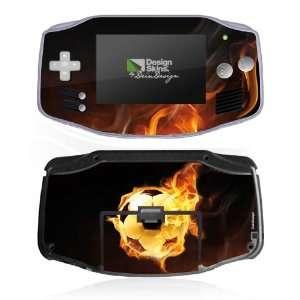 Design Skins for Nintendo Game Boy Advance   Burning Soccer Design