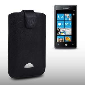 SAMSUNG OMNIA 7 TERRAPIN GENUINE LEATHER POCKET CASE BY