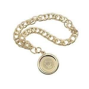 Wisconsin   Charm Bracelet   Gold